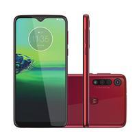 O Moto G8 Play da Motorola é perfeito para você ampliar a sua diversão, sua tela Max Vision HD+ de 6,2''  é ideal para quem deseja ter uma imersão tot