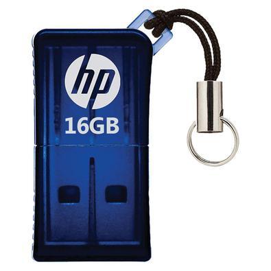 Armazene seus arquivos com enorme praticidade e leve-os para onde quiser por meio do mini HP V165WO pen drive traz um total de 16GB e é perfeito para