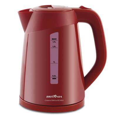 Prepare café, cappuccino, chá, chimarrão, mamadeira, e muito mais de forma rápida e simples. A Chaleira Elétrica BCH06V possui capacidade para 1,7 lit