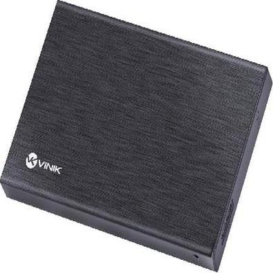 """O Case para HD 2.5"""", Vinik é resistente, leve e bonito. Feito em alumínio, favorece a condução do calor e o torna mais elegante.Com conexão SATA e USB"""