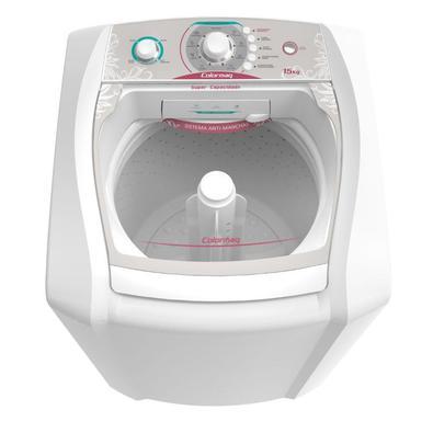Moderna e eficiente, a Lavadora de roupas Colormaq Lca 15kg, é a garantia de roupas limpas com total praticidade. Confira! Com 5 programas de lavagem,