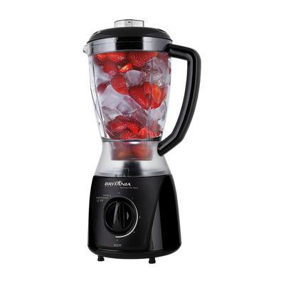 Quer praticidade e funcionalidade em sua cozinha? Com o Liquidificador Eletronic Filter Black Britânia você terá! São 800W de potência, 4 velocidades