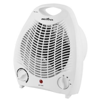 O Aquecedor Britânia AB1100N possui 3 níveis de potência e controle de temperatura, proporcionando um ambiente muito mais aconchegante! Se prepare par