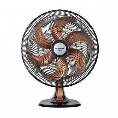 Se você deseja um ambiente mais refrescante e agradável, o Ventilador de Mesa Ventisol Turbo 6 40cm é perfeito. Seu Motor Turbo junto com sua hélice d