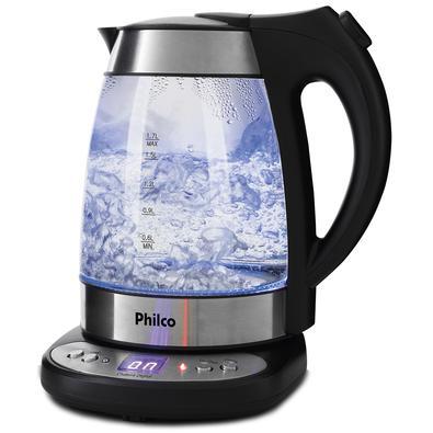 ? Com a Chaleira Digital Philco Glass PCHD 1,7L você consegue preparar chás, chimarrão, café instantâneo e muitas outras bebidas quentes de forma prát