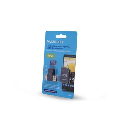 Cartão de Memória Ultra High Speed-I Até 80 MB/s de velocidade Ideal para smartphone e tablet AndroidTTire e salve mais fotografias de alta qualidade