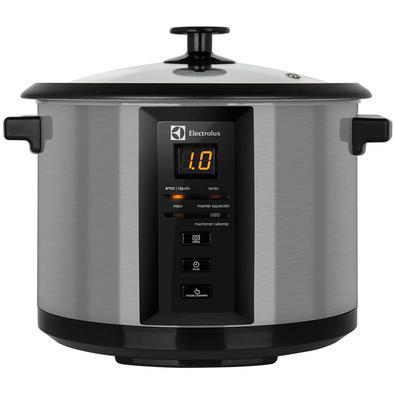 A Panela Elétrica Chef (ECC20) da Electrolux utiliza-se de toda a sua praticidade para ajudar você a preparar pratos deliciosos.A ECC20 possui painel