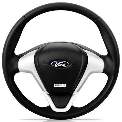 Volante Ford novo de ótima qualidade. Acabamento Perfeito. Revestimento emborrachado em Poliuretano..