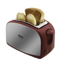 A Torradeira Philco French Toast Inox Vermelho 900W é uma ótima solução para preparar deliciosas e legítimas torradas em poucos minutos! Oferece 8 nív