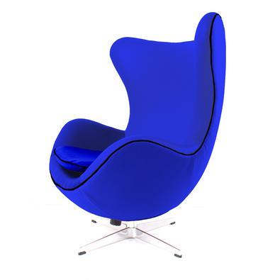 Poltrona, Cadeira Egg Decorativa Sala Quarto Escritório possui acabamento e qualidade de alto padrão fiel aos traços originais do modelo de 1957 do de