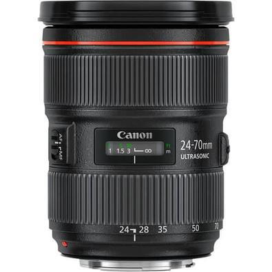 Lente Canon EF 24-70mm f/2.8L II USM EF Zoom (Motor Ultra Sônico)..