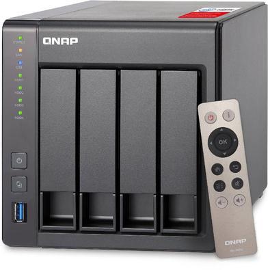 Servidor De Dados Nas Intel Quad-Core 2.0Ghz 8Gb - 4 Baias Sem Disco - Ts-451+-8G..