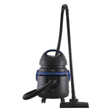 O Aspi aspira sólidos e líquidos, versátil e com dupla função para facilitar a limpeza! Aspira 11,5 litros de água e possui 1000W de potência, prático