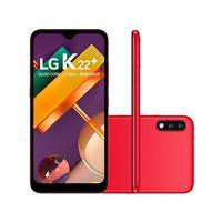 Smartphone LG K22+ 64GB 3GB RAM Tela 6.2 Câmera Dupla Traseira 13MP + 2MP Frontal 5MP Bateria de 3000mAh Red: Os tradicionais celulares da série K da