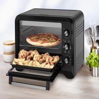 Quer um forno elétrico grande o suficiente para assar até 2 frangos inteiros de uma só vez? E se ele tiver diversas funções que asse, grelhe, aqueça,