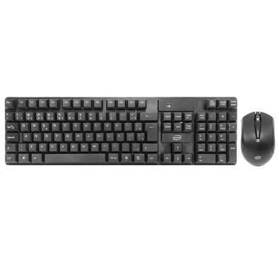 Combo: teclado e mouse Conexão Wireless: funciona com receptor nano USB de 2.4Ghz...
