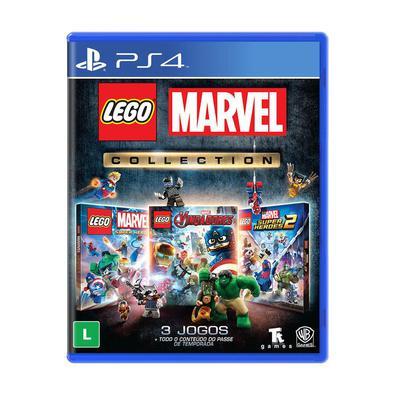 LEGO Marvel Collection é uma coletânea completa dos três jogos de ação e aventura da série LEGO baseados no vasto universo da Marvel, contando com per