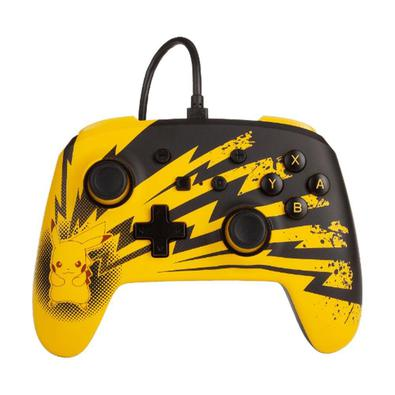 Controle PowerA com fio (Pikachu Lightning Edition) - Switch..