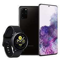 Seja esportivo sem perder a elegância. O Galaxy Watch Active apresenta um design leve e discreto para que você possa acompanhar seu percurso em direçã