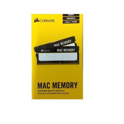 Memória Mac Corsair, 16GB, 2x8GB, DDR4, 2666MHz - CMSA16GX4M2A2666C18 2784..