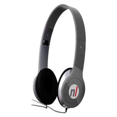 Fone de Ouvido Newlink Extreme P2 Cinza HS108. Fone dobrável: leve seu headset para qualquer lugar. Fone acolchoado:  revestimento do fone para maior