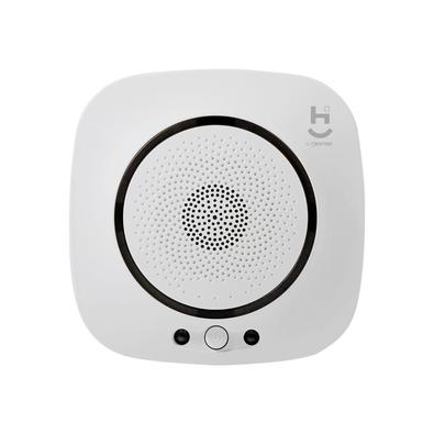 O Sensor de gás Hi by Geonav garante a segurança da sua família e sua casa. Ao menor sinal de vazamento em um ambiente, o sensor é acionado, emite um