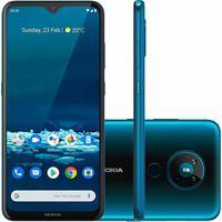 Tenha uma solução para o seu dia a dia sem deixar nada para trás com o Nokia 5.3. Tire fotos especiais e únicas com o conjunto de quatro câmeras na pa