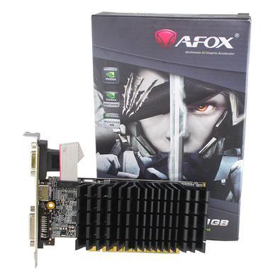 Torne toda a sua experiência com o PC mais rápida com a Placa de Vídeo AFOX G210 Geforce, 1GB, DDR3 - AF210-1024D3L5-V2. Garanta já a sua aqui no KaBu