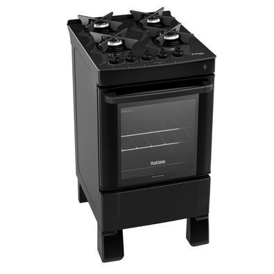 O fogão Itatiaia veio para dar um toque de sofisticação na sua cozinha. Moderno, prático e rápido, possui acendimento automático, trempes individuais