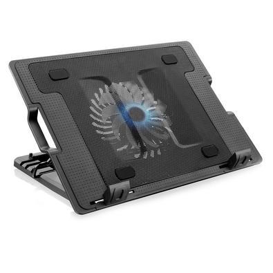 Características: - Marca: Multilaser - Modelo: AC166   Especificações: - Superfície de metal - 2 portas USB - 4 ângulos ajustáveis - Cooler com 12 cm
