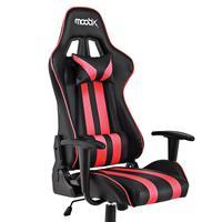 Cadeira Gamer NITRO Preto e Vermelho As cadeiras gamer da linha NITRO são a opção ideal para os games mais desafiadores e irados. Sinta a adrenalina a