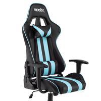 Cadeira Gamer NITRO Preto e Azul As cadeiras gamer da linha NITRO são a opção ideal para os games mais desafiadores e irados. Sinta a adrenalina a cad