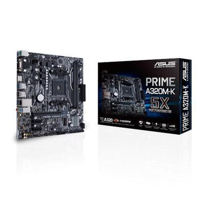 Placa-Mãe Asus Prime A320M-K, AMD AM4, mATX , DDR4..