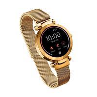 O Smartwatch Dubai chegou pra te deixar ainda mais elegante e luxuosa. Uma verdadeira jóia no seu pulso. Vista Dubai e experimente esse novo mundo da