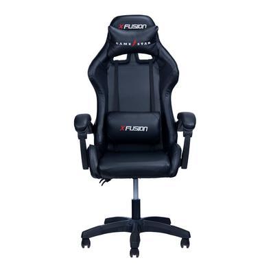 Cadeira Gamer X Fusion, Suporta até 120kg, Preto - C.123..