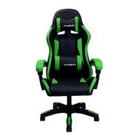 Cadeira Gamer X Fusion, Suporta até 120kg, Verde - C.123..