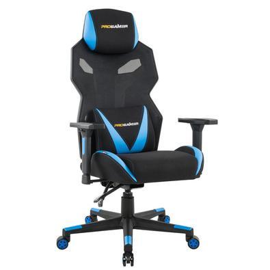 A Cadeira Gamer Executiva PRO-X Gaming Reclinável Giratória Preto/Azul é o produto perfeito para os amantes de jogos! Conforto e qualidade impressiona