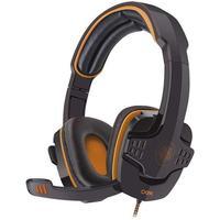 Torne suas batalhas mais reais com o headset Target! Conexão USB, haste ajustável, posição ajustável do microfone e revestimento acolchoado do fone e