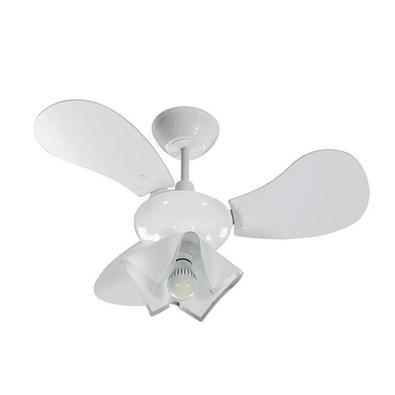 Ventilador De Teto Tron Greco, Com Pás, Para 1 Lâmpada 130W, Branco, 127V. Que tal se refrescar? O ventilador greco é produzido em policarbonato, mate