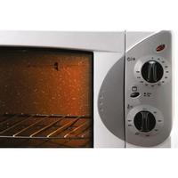 Forno elétrico 44 litros, assa, gratina ou aquece os alimentos. Possui 1750W de potência, controle eletrônico digital, pés anti-derrapante, termostato