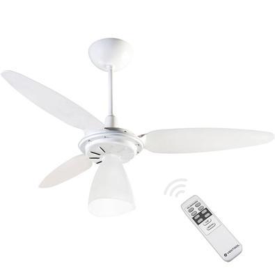 Prepare-se para este verão com o Ventilador de Teto Ventisol Wind Light com Controle Remoto! Com uma área de ventilação de 20 m, é ideal para quartos,