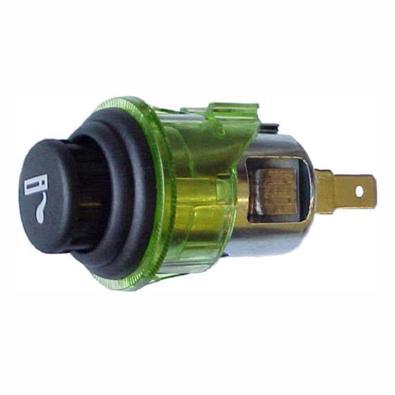 Acendedor Anel Difusor Universal, 12V, Verde - DNI 0569...