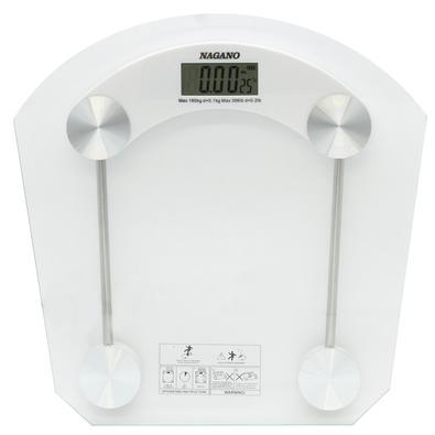 Com a Balança digital Nagano, você pode controlar o seu peso sem precisar sair de casa. Para acioná-la, basta colocar os pés sobre ela...