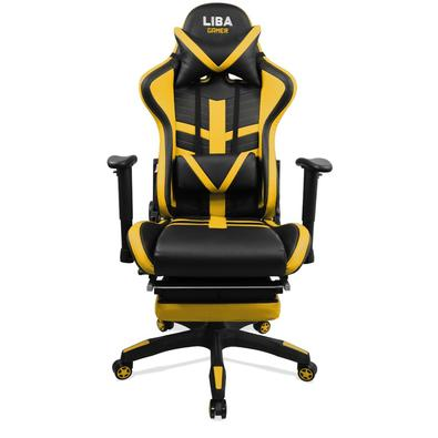 Com design inspirado nos carros esportivos a Cadeira Liba Gamer tem um visual imponente e moderno, sendo uma excelente opção para quem busca qualidade