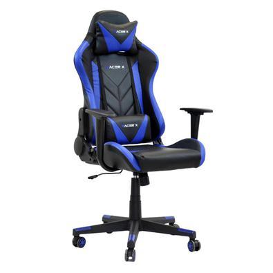 Cadeira Gamer Racer X Reclinável Azul..