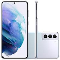 "Smartphone Samsung Galaxy S21+ 5G, 128GB, RAM 8GB, Octa-Core, Câmera Tripla, Tela 6,7"", Prata -  SM-G996BZSRZTO"
