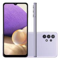 "Smartphone Samsung Galaxy A32 5G, 128GB, Octa Core, Câmera Tripla, Tela 6,5"", Violeta -  SM-A326BLVRZTO"