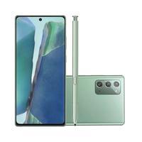 Características:- Marca: Samsung- Modelo: SM-N981BZGSZTOEspecificações:Cor:- Mystic GreenArmazenamento:- Capacidade: 256GBMemória Ram:
