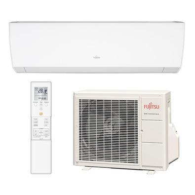 O ar split Fujitsu Inverter é perfeito para climatizar seu ambiente com rapidez e de forma silenciosa. Supereconômico, o split possui o modo mudança a