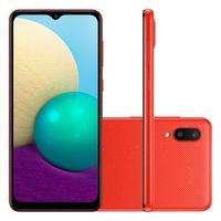"Características:- Marca: Samsung- Modelo: SM-A022MZRRZTOEspecificações:Destaques:- Tela Infinita de 6.5""- Câmera Dupla Traseira de 13MP + 2M"